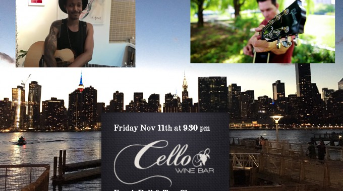 Cello Bar Fri Nov 11